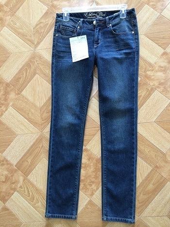 Clásico de moda dama Jeans / vaqueros pantalones