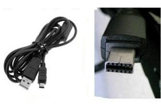 SAMSUNG DIGIMAX i70//i85//L70//L73 Digital Cámara USB Cable Cargador de batería