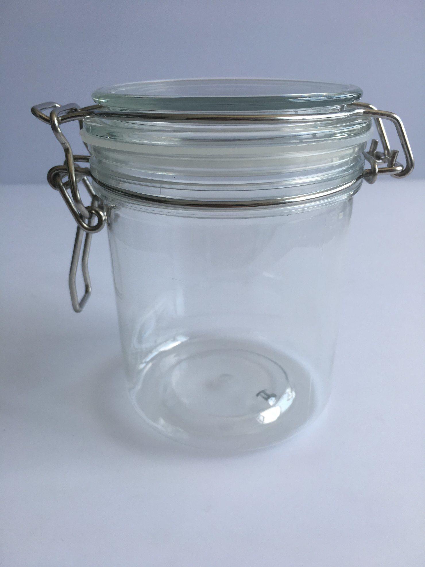 550mlクリップ上のプラスチック円形の瓶