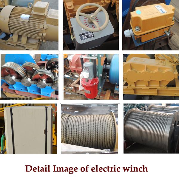 Schema Elettrico Per Verricello : Cavo poco costoso della macchina che tira argano elettrico a bassa