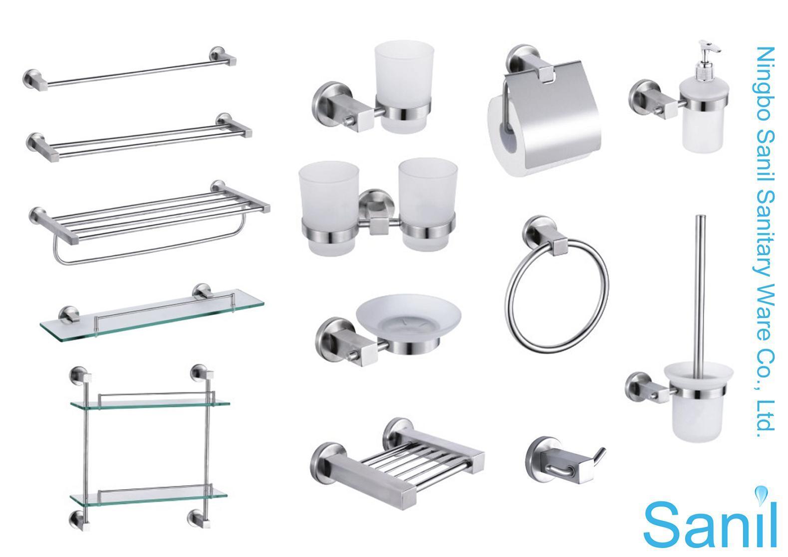 accesorios del cuarto de ba o del acero inoxidable