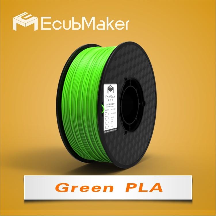 1,75 mm PLA filament pour la 3D'Imprimante couleur vert