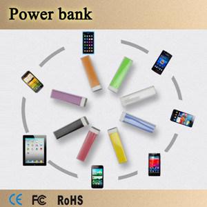 La fabricación Portable 2600mAh pintalabios Banco de potencia para teléfono móvil