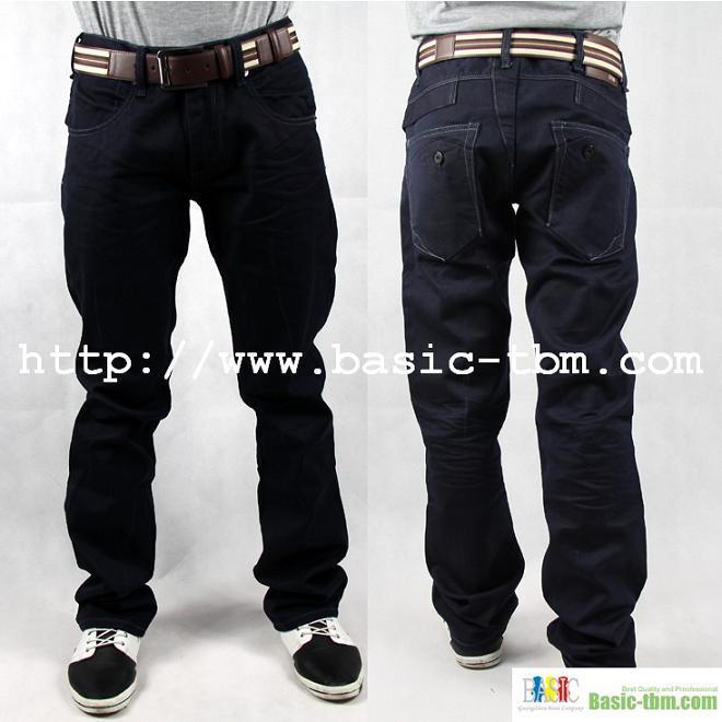 100%algodón de los hombres Jeans de clase alta (P10122529)