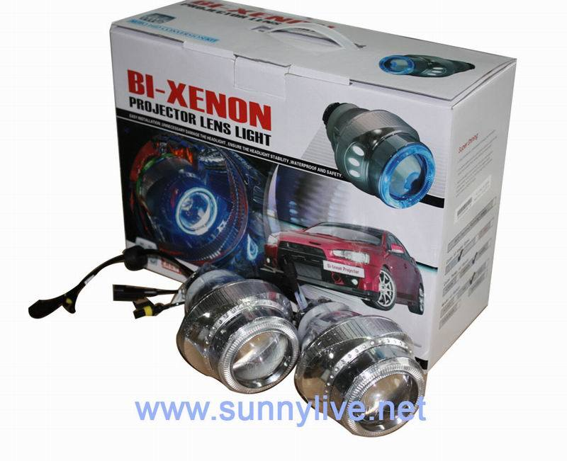 Bi-Xenon Projector Lens Light