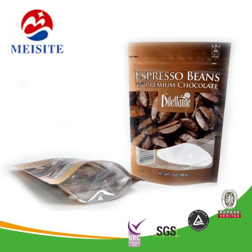 Настраиваемые высокого качества 1 фунтов крафт-бумаги или мешок для кофе