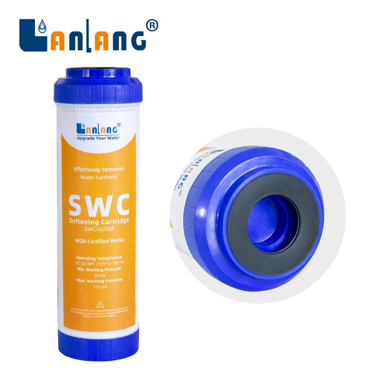 Preiswerter Preis-Standardkapazitäts-Wasserenthärtung-Filtereinsatz