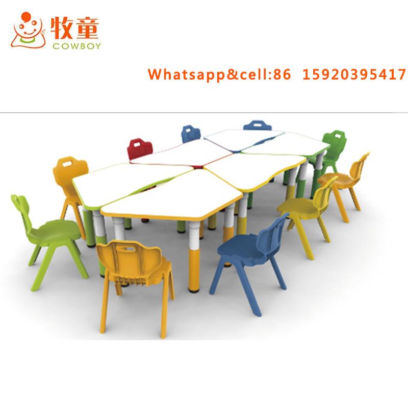 Foto de Mesas y sillas de jardín de infantes de plástico para niños ...
