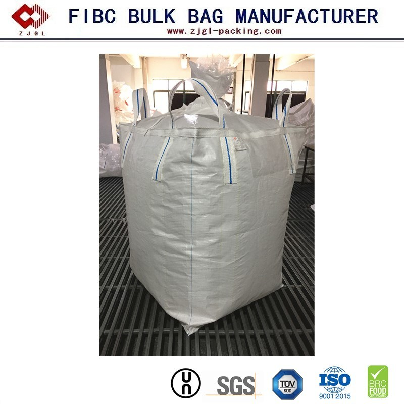 China 500kg 1000kg Tecido PP FIBC Granel embalagem grande saco Ton Lingue FIBC Jumbo