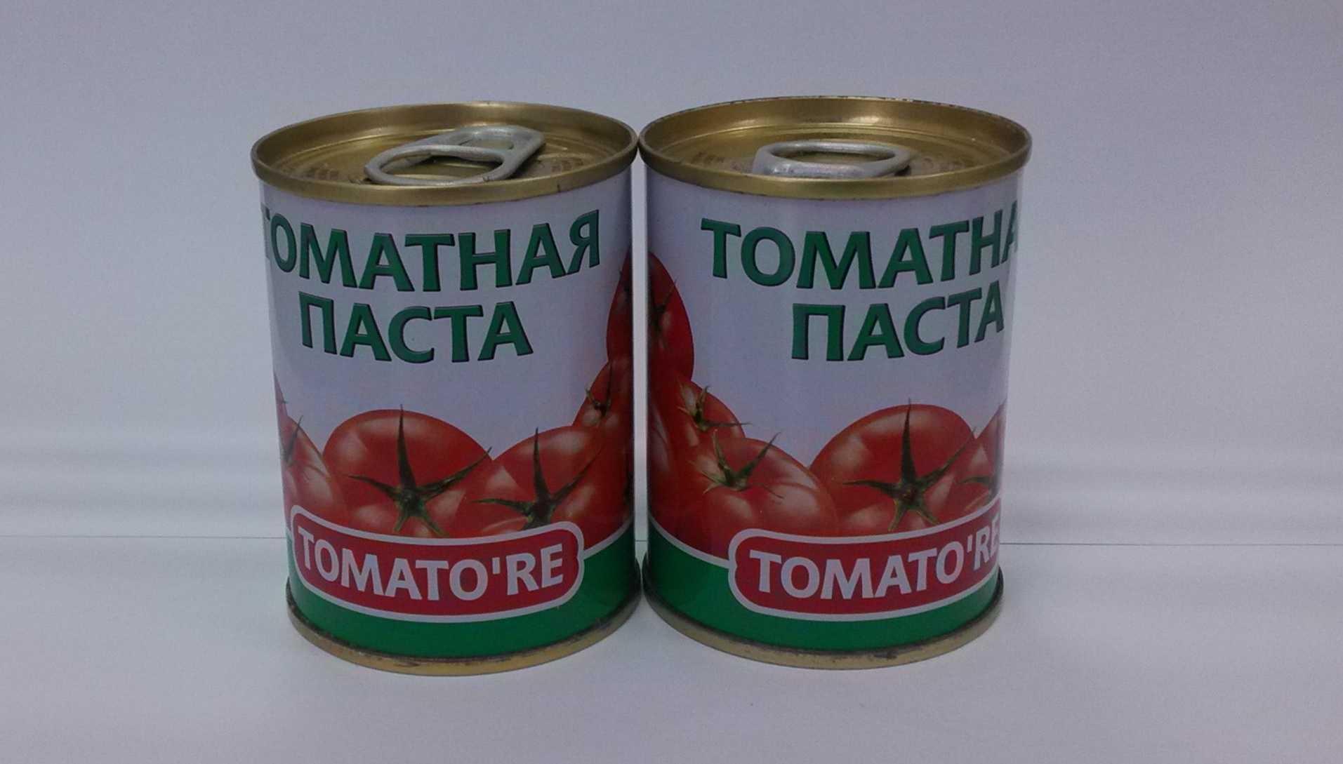 Высокое качество заготовленных томатной пасты 140g 22/24 18/20%% 28/30%