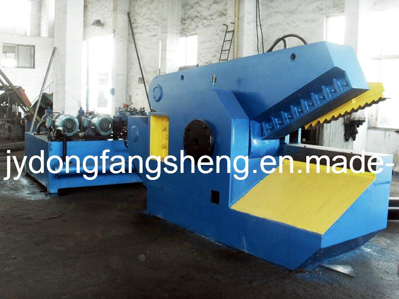 T43-315 máquina de corte de crocodilo com 1200 mm de comprimento de corte (CE)