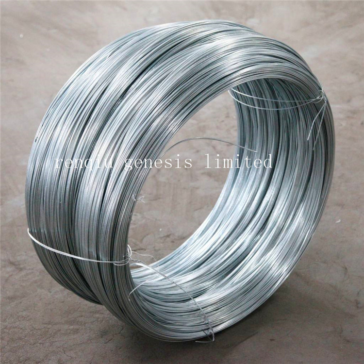 Диаметр 5.0mm горячей DIP провод оцинкованной стали
