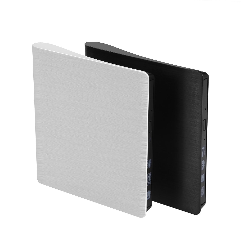Laptop/PC/Mac (黒)のためのUSB3.0外部DVD/CD駆動機構