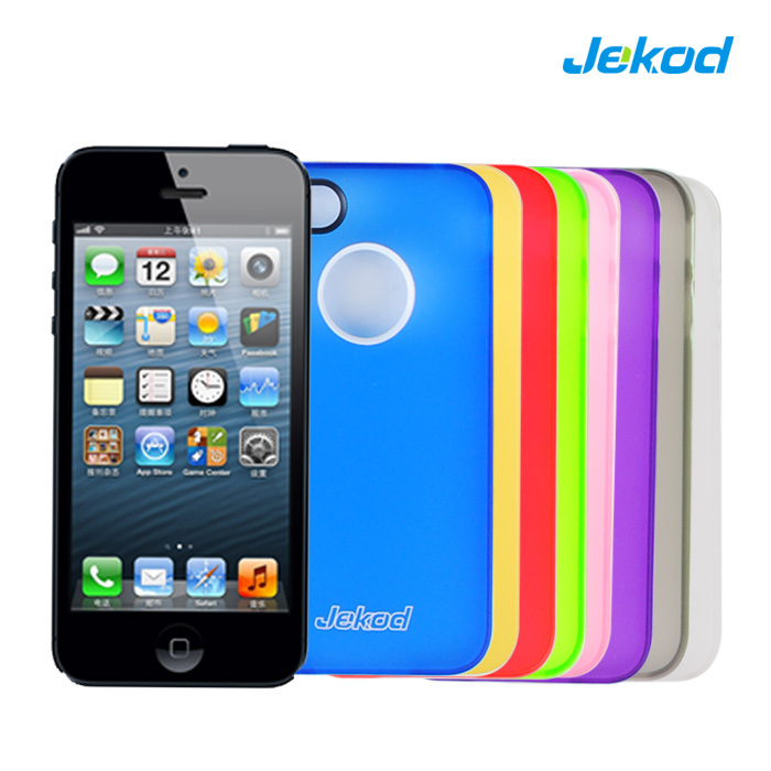 iPhone 5/5s 用携帯電話 TPU ケース