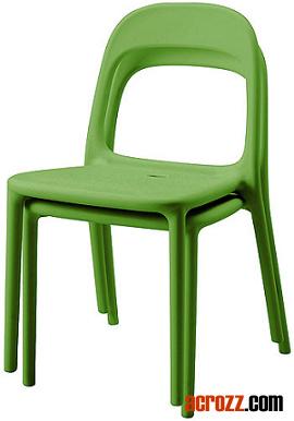Foto de replica ikea apilable de pl stico urban silla de - Sillas de plastico ikea ...