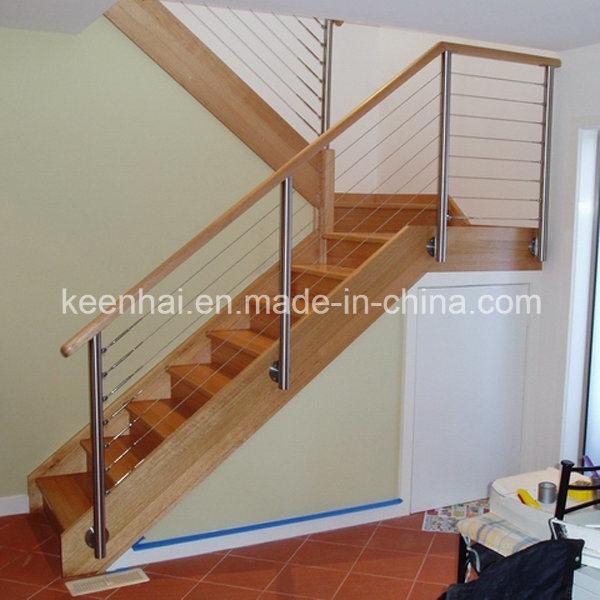 Foto de modernos interiores del pasamanos de escaleras de - Barandillas para escaleras interiores modernas ...