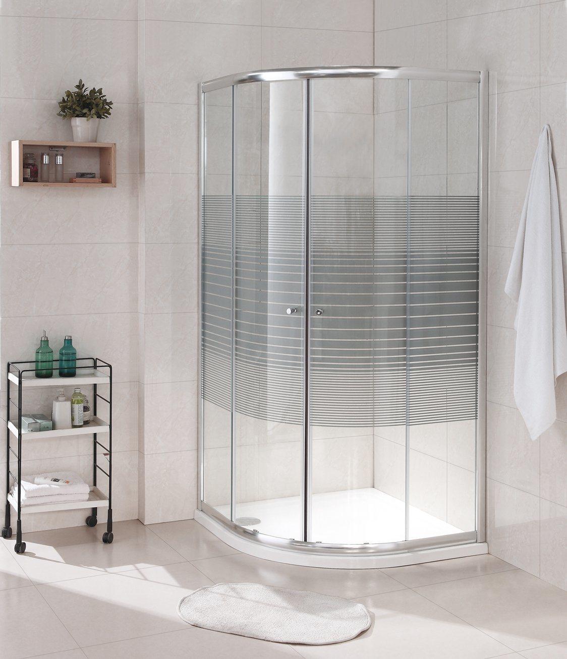 Foto de Tres cuarto de baño estándar australiano Marco de las ...