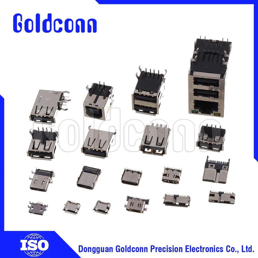 Smt Component Blister Printedcircuitboardassembliesjpg Usb Mini Micro Lleno Pegar Tipo Conector Hembra De Cuerpo Largo 1000x1000