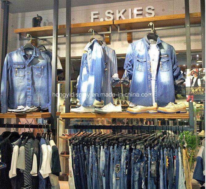 Foto de slatwall colgador de ropa del panel de for Colgador ropa pared