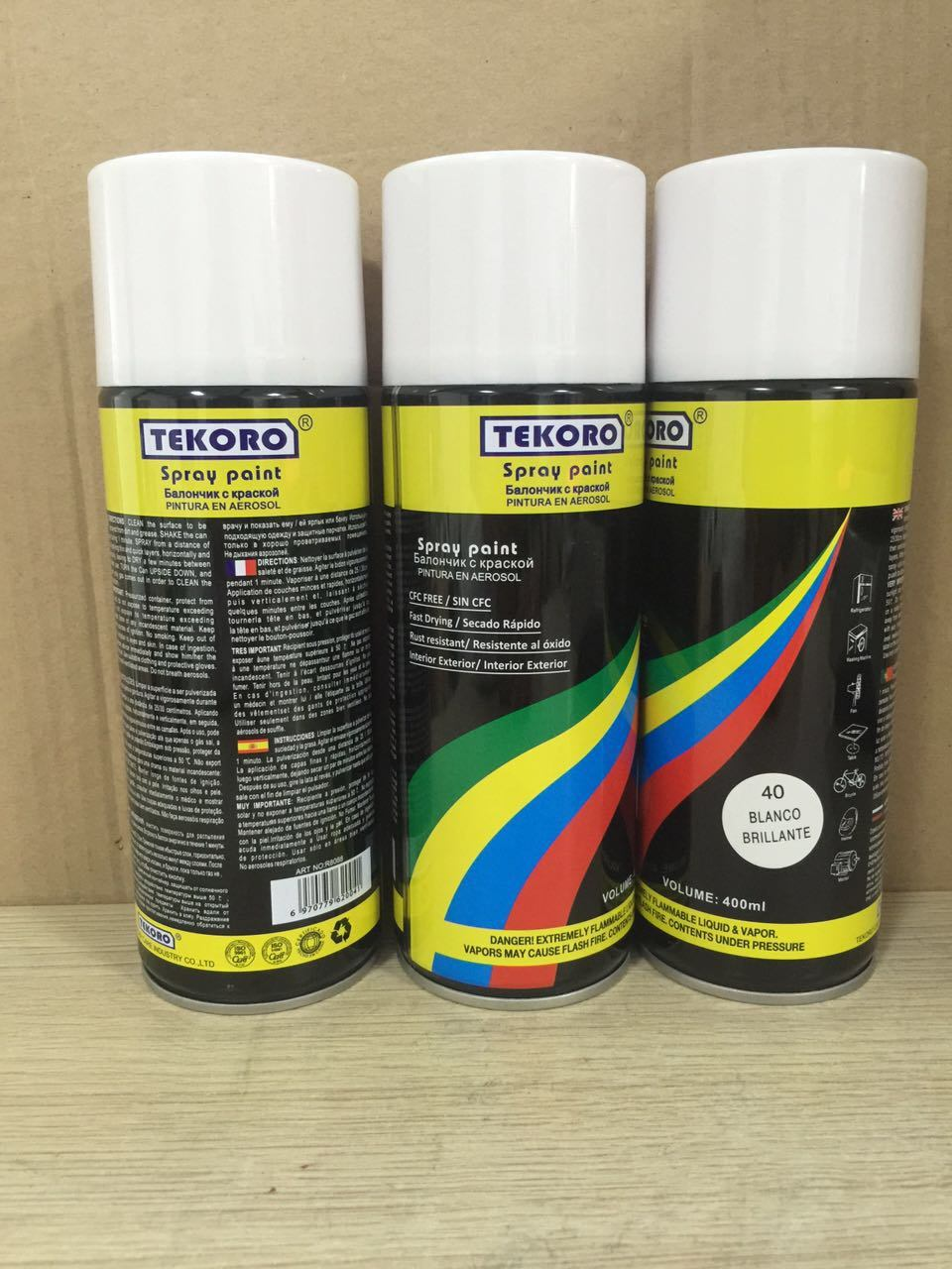 Tinta Spray aerossol