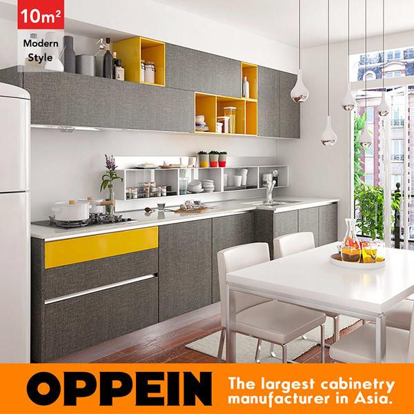 10 metros cuadrados Straight-Line cocina de estilo moderno, el ...