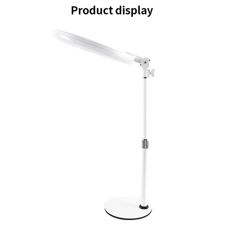 Lampen-Handy-Kamera Selfie Ring-Fülle-Licht-Halter-Ring-Licht 10 Zoll-LED mit Ring-Licht der Stativ-Standplatz-Fotographien-LED