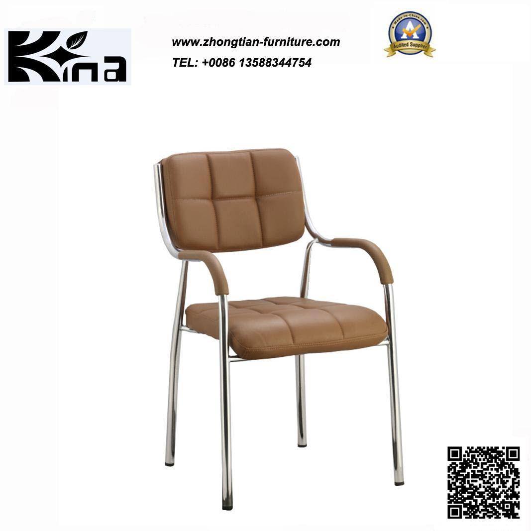 Chine Fauteuil en cuir métal Visiteur (K 02) – Acheter