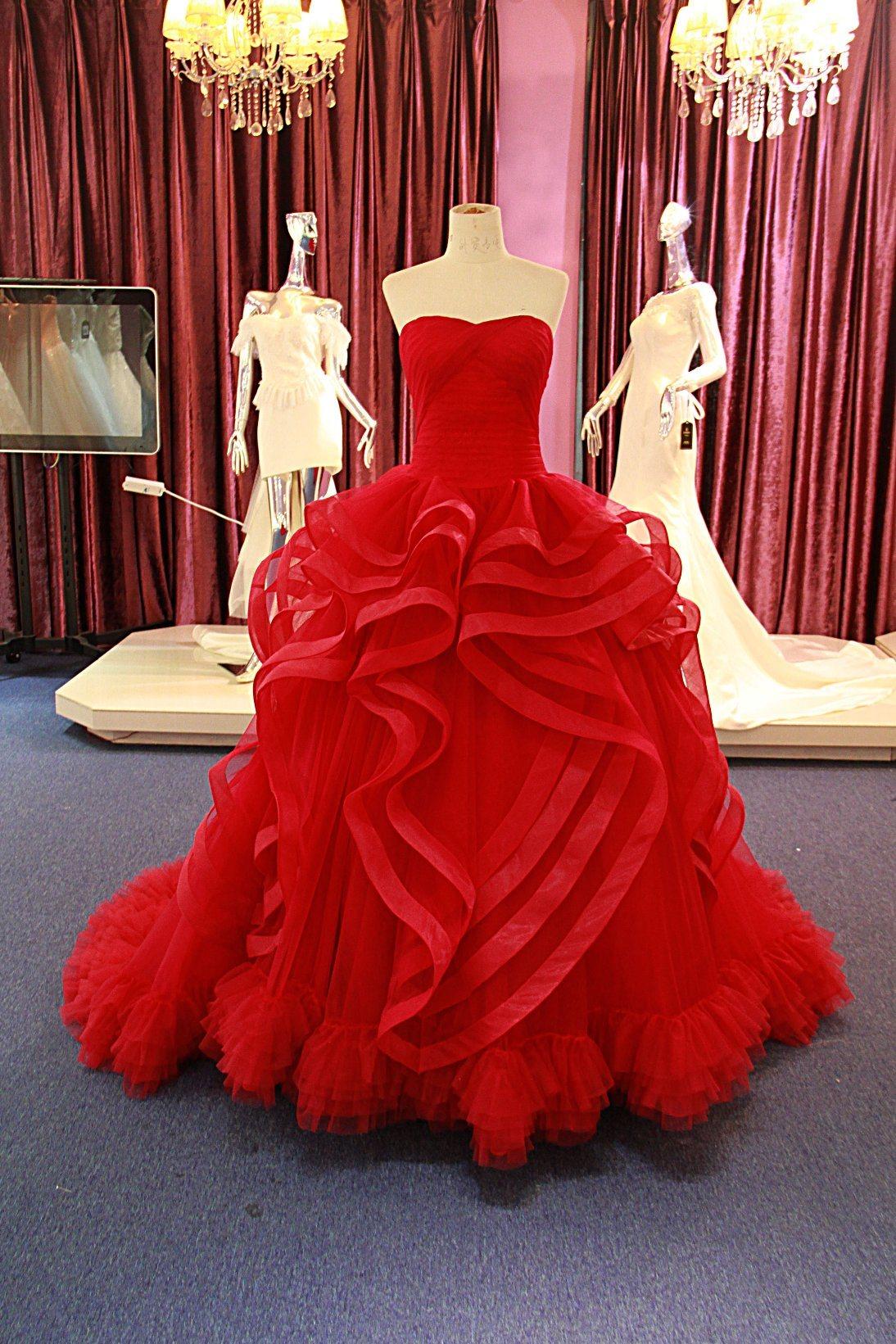 소녀 Ballgown 신부 저녁 Prom Quinceanera 실제적인 복장 T0220