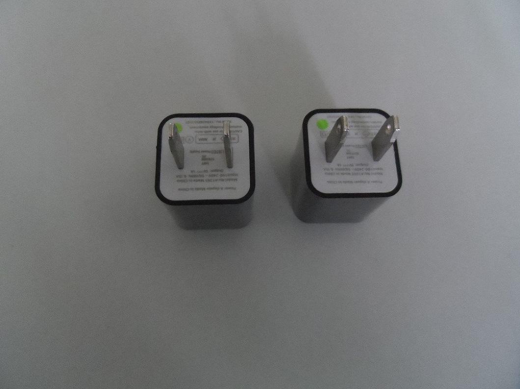 5V ~1um adaptador de energia USB Carregador para Apple iPhone 5, iPad 4, Mini iPad