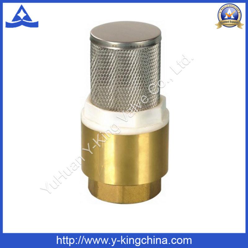 Soupape de contrôle du ressort en laiton avec ss Filtre (YD-3003)