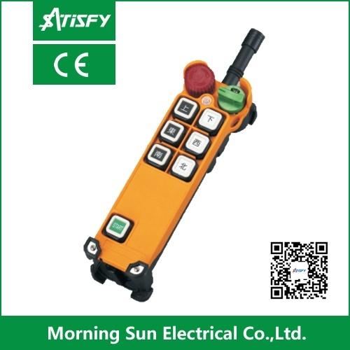 Wireless industrial Radio Remote Control para Cranes