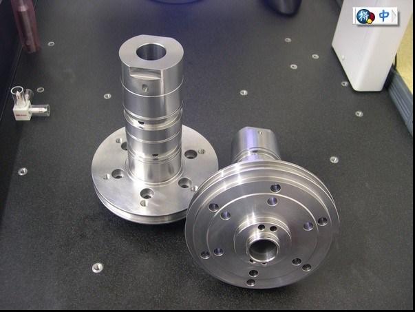 Custom поворот, помола и тепловой обработки алюминия шпиндели часть станка