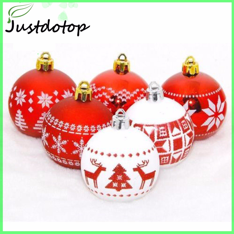 24 Pack Arbre de Noël Décoration 3 cm incassable Baubles Décorations