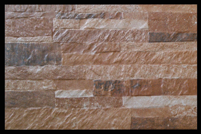 foto de 3d de porcelana de piedra mosaico de la pared