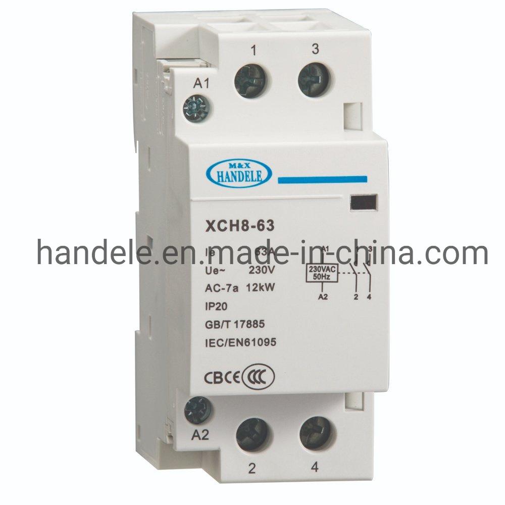 セリウム公認の小型AC接触器、モジュラー接触器2no