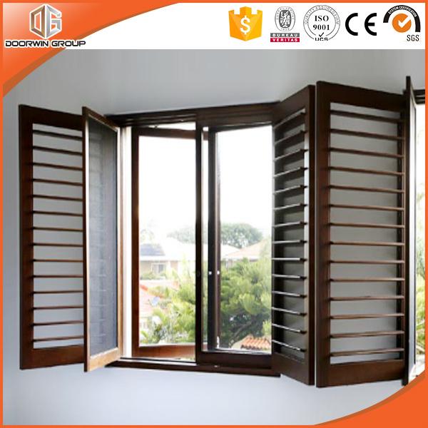 Fenêtre Daération En Aluminium Combiné Avec Fenêtre à Battant