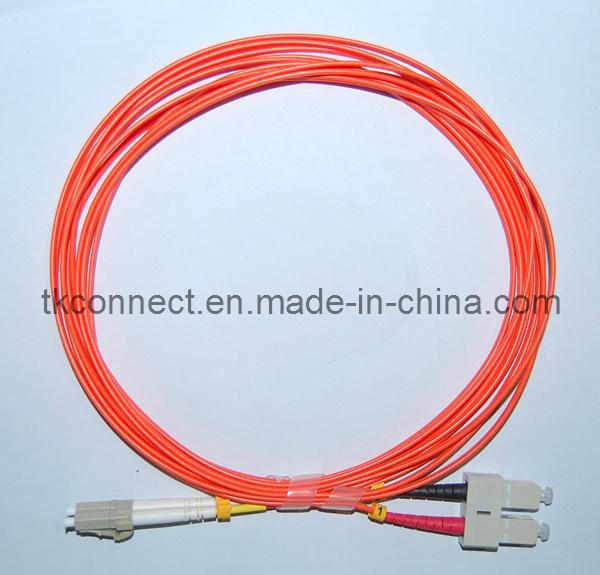 Sc/LC dúplex Mm Cable de fibra óptica