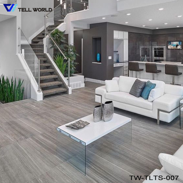 Foto de Casa moderna de Muebles Muebles de salón comedor de cristal ...