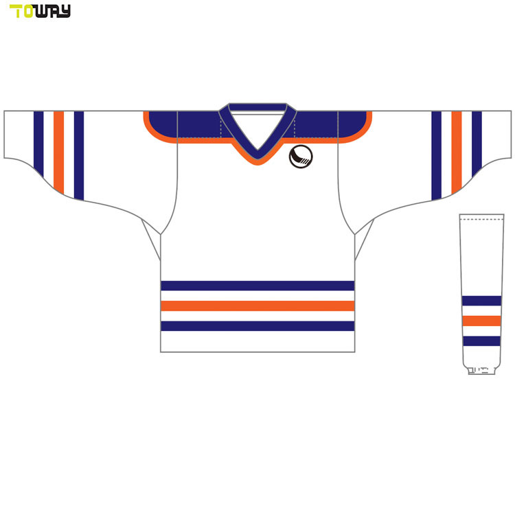 Ijshockey het van uitstekende kwaliteit Jersey van de Sporten van de Clubs van de Slijtage van het Team van de Douane