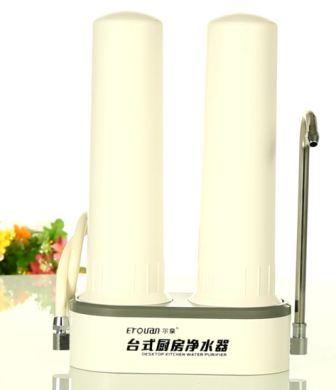 Cocina encimera purificador de agua, filtro de agua de la encimera