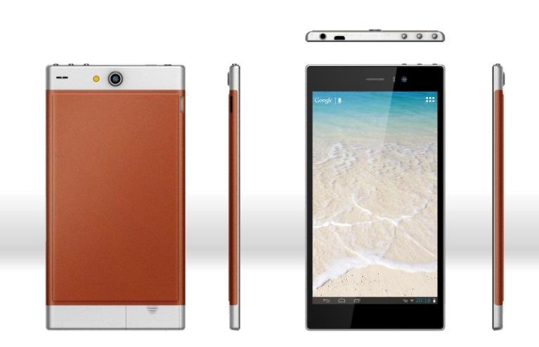 6.95pouces boîtier métallique haut de gamme Mtk Android 4.28312 Dual core 3G Phablet Tablet PC