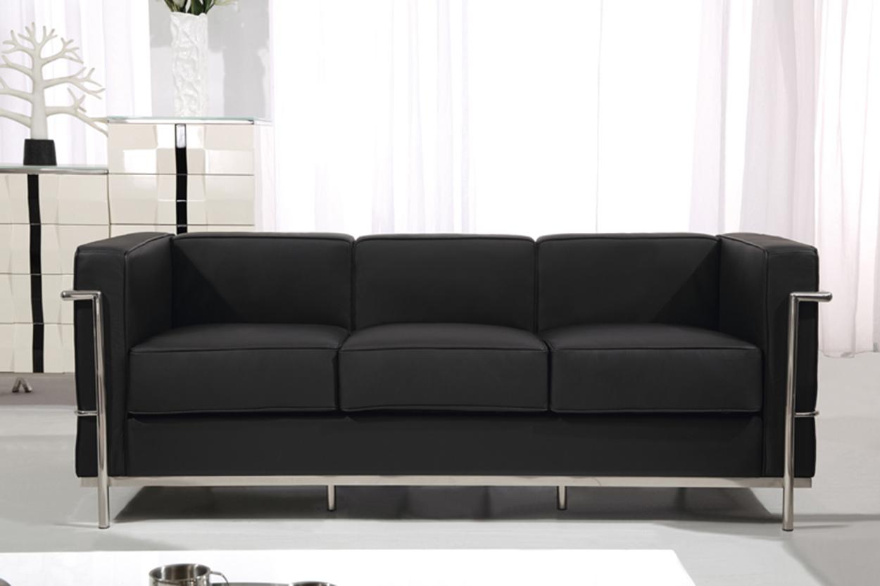 Un mobilier moderne le corbusier bureau canapé en cuir lc u un