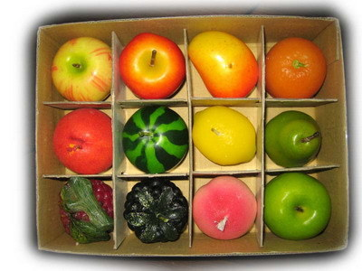 Vela de frutas (BF-1001)