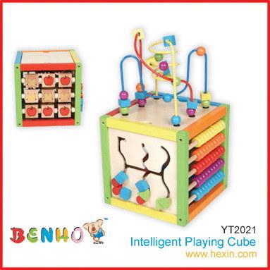 Les jouets en bois - Intelligent jouant Cube(YT2021)