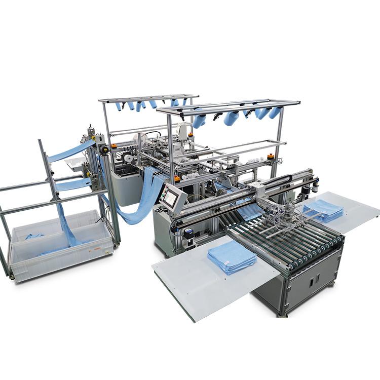 Textiel fabriek Automatische Baby Bad Keuken Strand Bad handdoek maken Machines