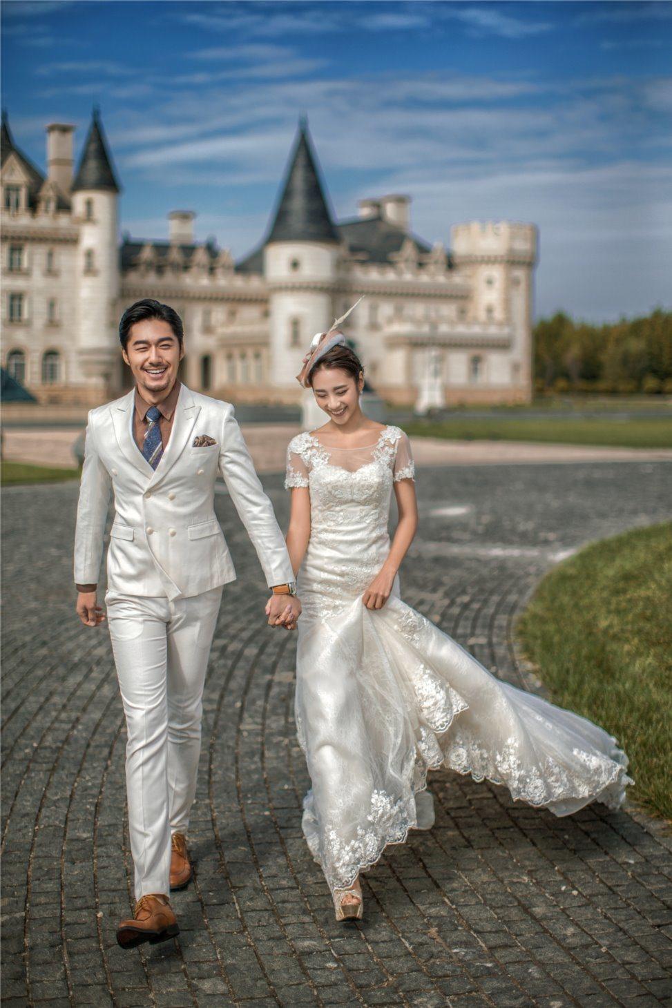인어 복장 신부 드레스 결혼 예복 (TJBLCT007)