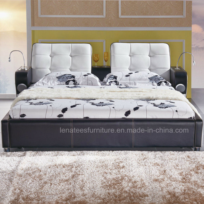A088 Nouveau modèle de lit Chambre à coucher Mobilier de musique ...