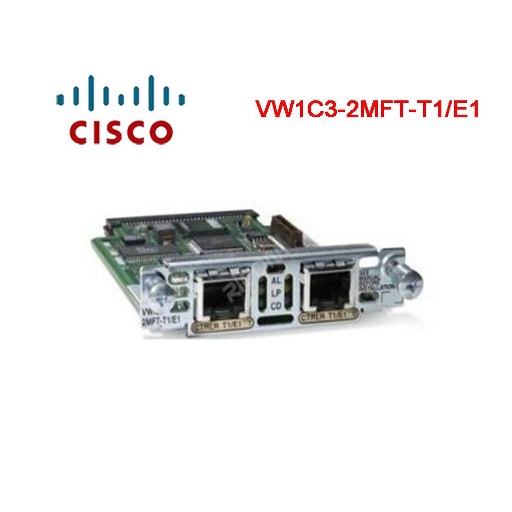 Cisco-Sprachkarte VWIC3-2mft-T1/E1