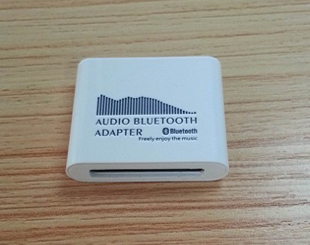 Audio adattatore della ricevente di Bluetooth per l'altoparlante del bacino di iPhone del iPod 30pin