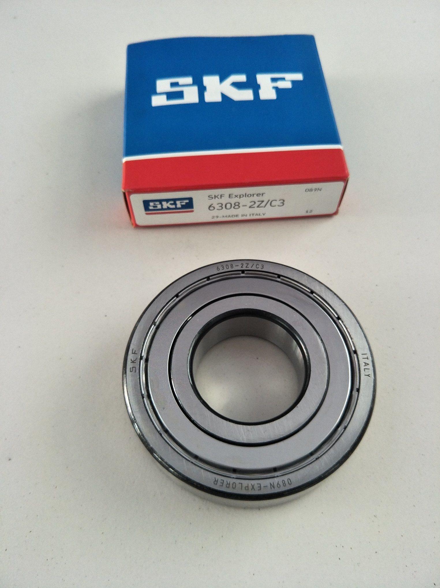 Rodamiento Skf blindado de metal de 6001zz 60012z 12x28x8mm 6001ZZ 60012Z 6001 ZZ 6001 2z
